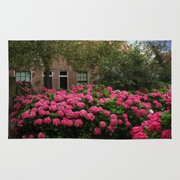 Hydrangea Garden In Woudrichem The Netherlands Rug