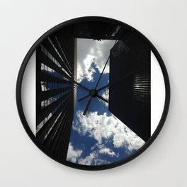 New York City from Down Low Wall Clock