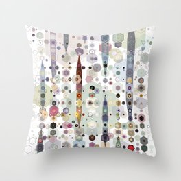Up on the Hill Throw Pillow
