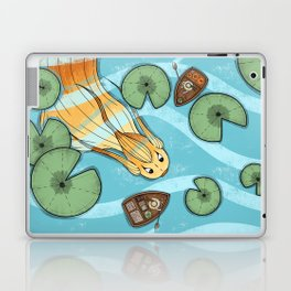 Pumpkin Fish Laptop & iPad Skin