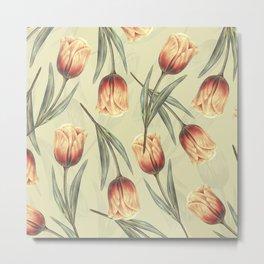 Tulipa pattern 2.1 Metal Print
