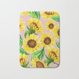 Sunny #society6 #decor #buyart Bath Mat