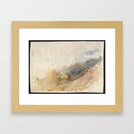 Joseph Mallord William Turner 1775–1851, landscape 2 Framed Art Print