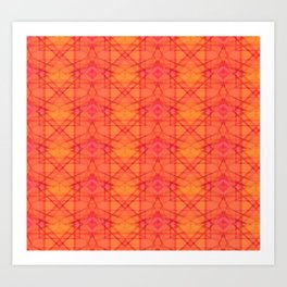 Sunrise Kaleidoscope Art Print