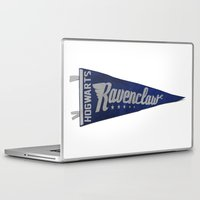 ravenclaw Laptop & iPad Skins featuring Ravenclaw 1948 Vintage Pennant by Andy Pitts