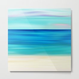 Abstract Seascape 11 Metal Print