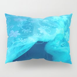 ghost in the swimming pool Pillow Sham