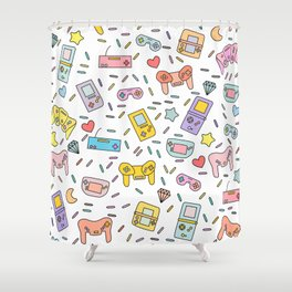 Gaming Shower Curtain