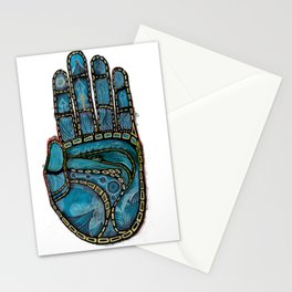 The Hand Of (Free)Time Stationery Cards