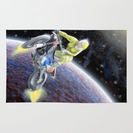 Space Motocross Rug