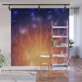 Laughing Flame Wall Mural
