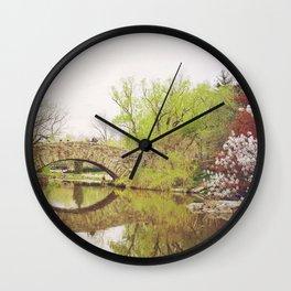 New York City Springtime Wall Clock