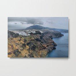 Santorini 6 Metal Print