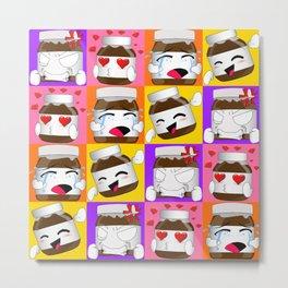 Nutella expressions mood 4 Metal Print