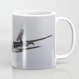 Qatar Airlines Airbus And Seagull Escort Coffee Mug