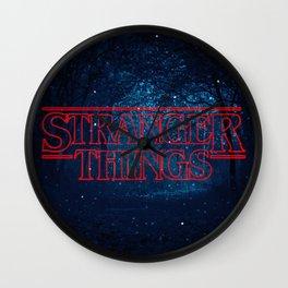 Strange Things Art Wall Clock