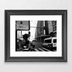 Av. Rio Branco Framed Art Print
