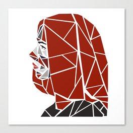 Natasha Romanoff Polygonal Design Canvas Print