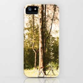 Gone Cycling iPhone Case