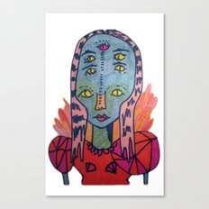 ALIEN QUEEN Canvas Print