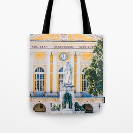 Place Garibaldi, square in the center of Nice, France Tote Bag