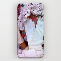 Vintage Gloves & Lace iPhone & iPod Skin