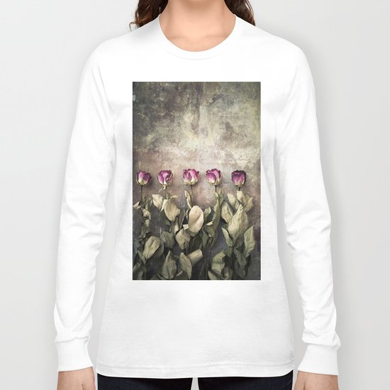 Five dried roses Long Sleeve T-shirt