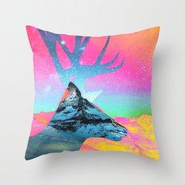 Matterhorn 1 Throw Pillow