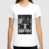horror T-shirts featuring Horror by alexflasher