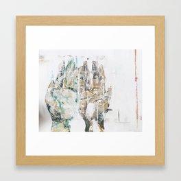Blurry Love Framed Art Print
