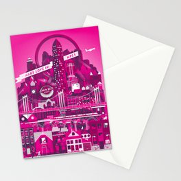 Make Love In MPLS Stationery Cards