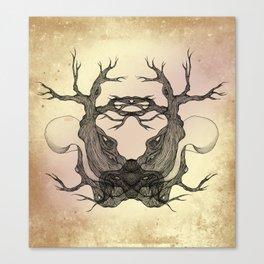 Tree Girl Series 9 Canvas Print