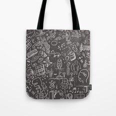 My Brain Won't Stop Tote Bag