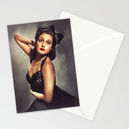Dorothy Lamour, Classic Actress Stationery Cards