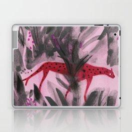 Red Panther Laptop & iPad Skin