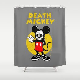 death mickey Shower Curtain