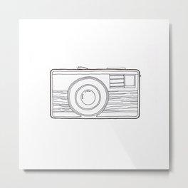 Vintage Camera 4.0 Metal Print