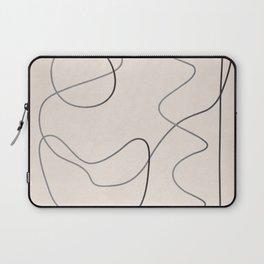 Abstract Line III Laptop Sleeve
