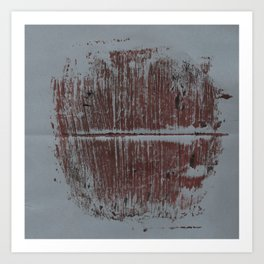 Monotype #4 Art Print