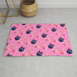 Chibi Moon Pattern / Sailor Moon Rug