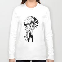 fireflies Long Sleeve T-shirts featuring Grave of the Fireflies by jeice27