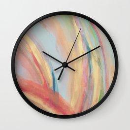 Inside the Rainbow Wall Clock