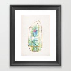 Terrarium III Framed Art Print