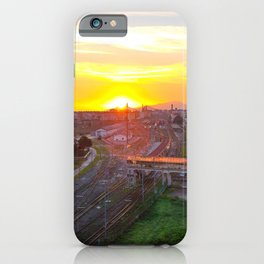 Fuorigrotta quarter at sunset iPhone Case