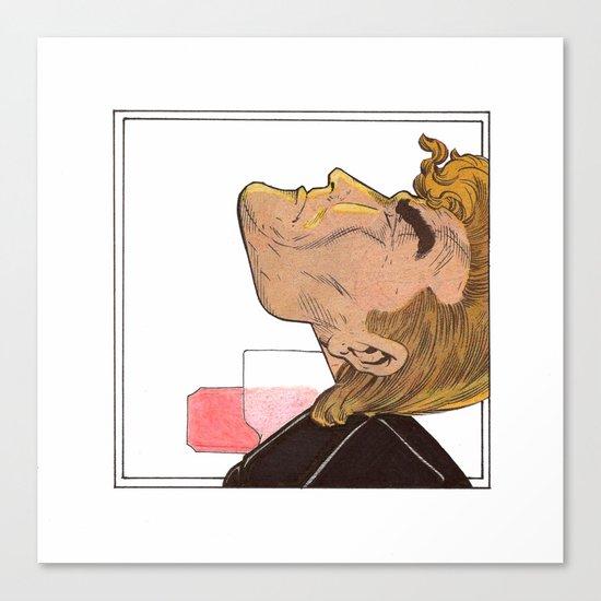 PEZ neck Canvas Print