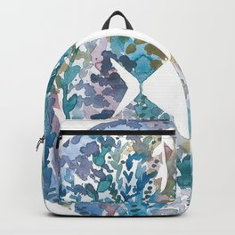 Blue fish Backpack