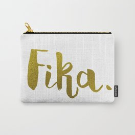 Golden fika Carry-All Pouch