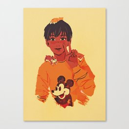 phichit and hamsters Canvas Print