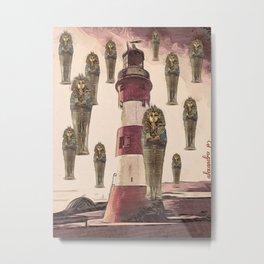 Tutankhamen reigns in Plymouth Metal Print