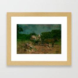 Kentucky Burley Framed Art Print